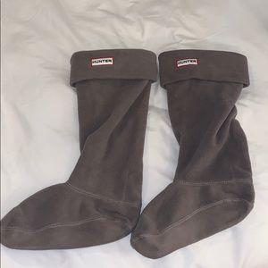 Talk Hunter boots socks